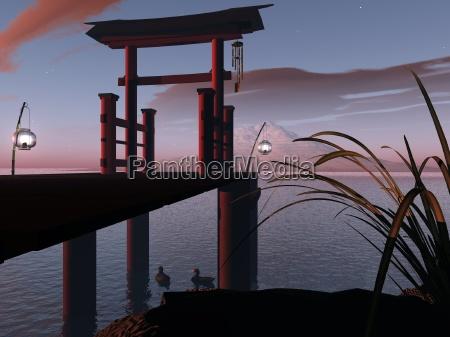 luce arte grafico notte tramonto romantico