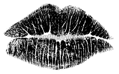 labbra da baciare bitmap solo bianco