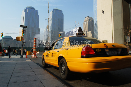 taxi trasporto manhattan nyc amerika broadway
