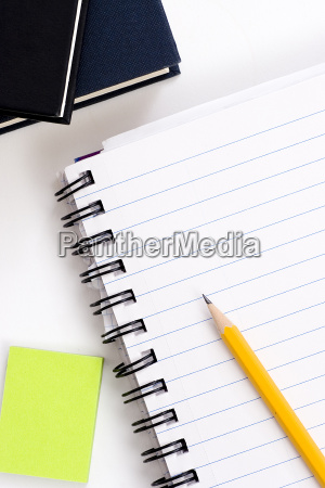 matita su notebook