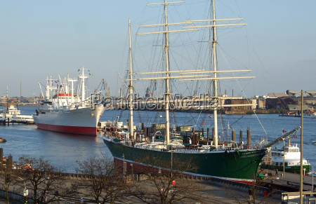navi museo a amburgo