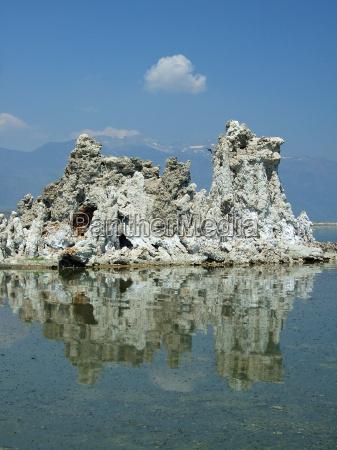 formazione calcare mono riserva lake south