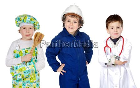 futura generazione di lavoratori