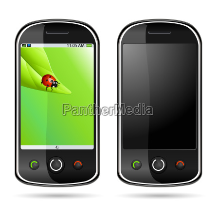 moderno telefono cellulare