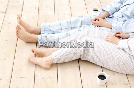 gambe di coppie