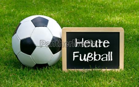oggi calcio concept sport e