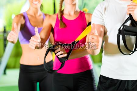centro fitness le persone felici
