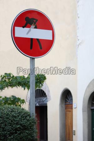segare segnale cartello stradale mito leggenda