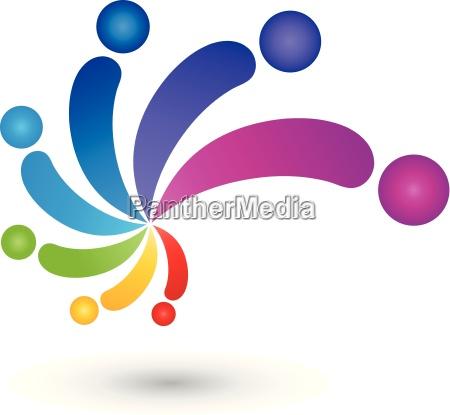 persone popolare uomo umano colorato arcobaleno