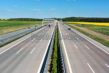 asfalto autostrada infrastruttura germania strada strasse