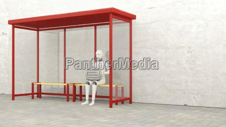 aspettare attesa stazione avoro moderno futuro