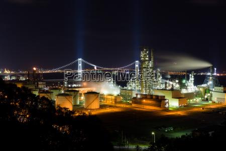 stazione torre industria industriale tecnologia asia