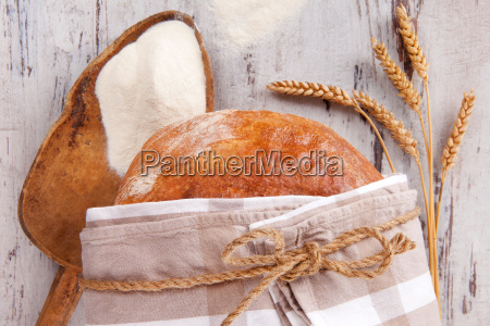 cibo pane legno marrone grano annata