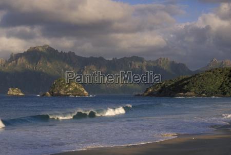 nuvola riva del mare spiaggia orizzontale